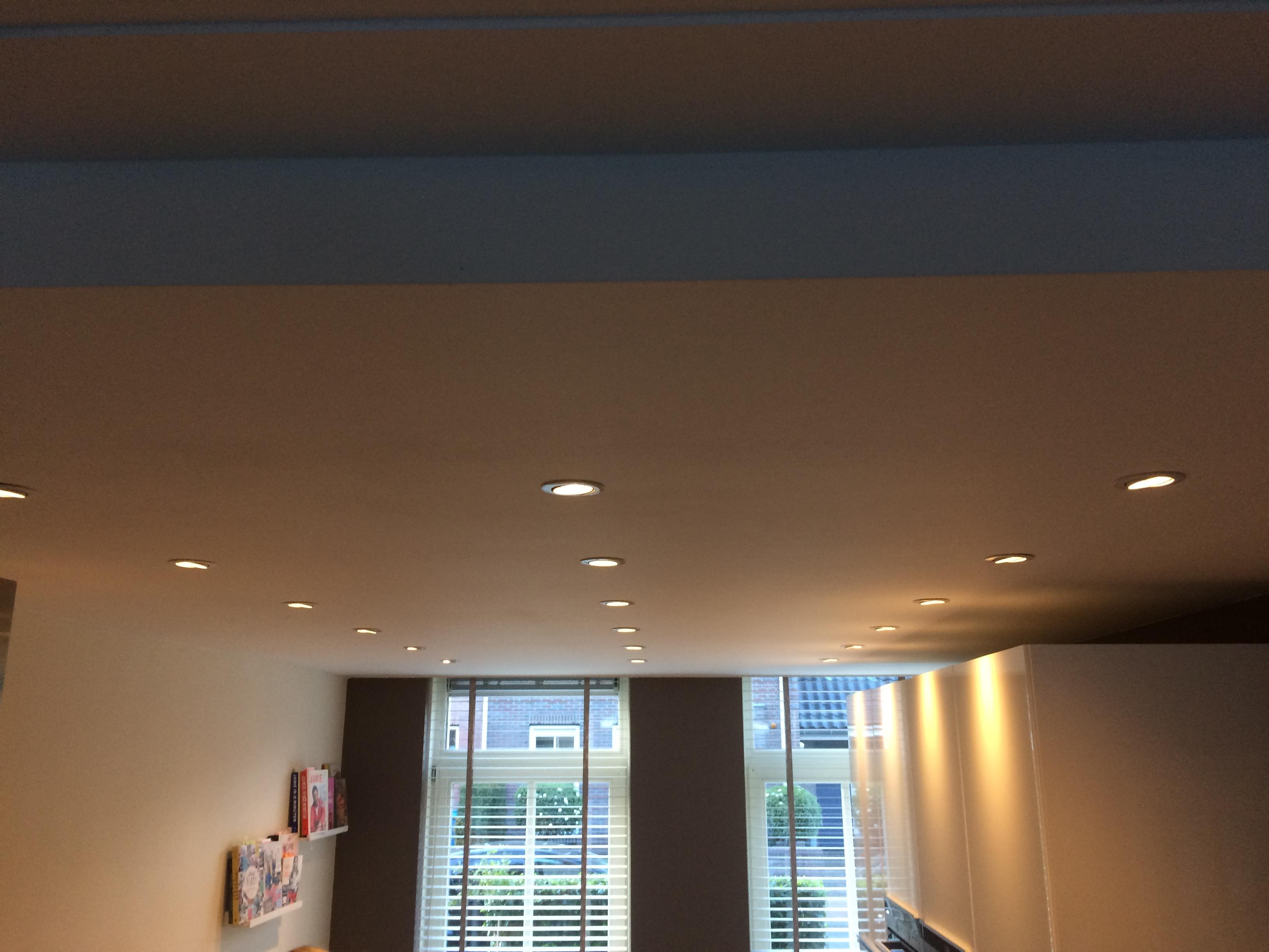 Uitzonderlijk Verlaagd plafond in de keuken - Bulder Klusbedrijf &JH44
