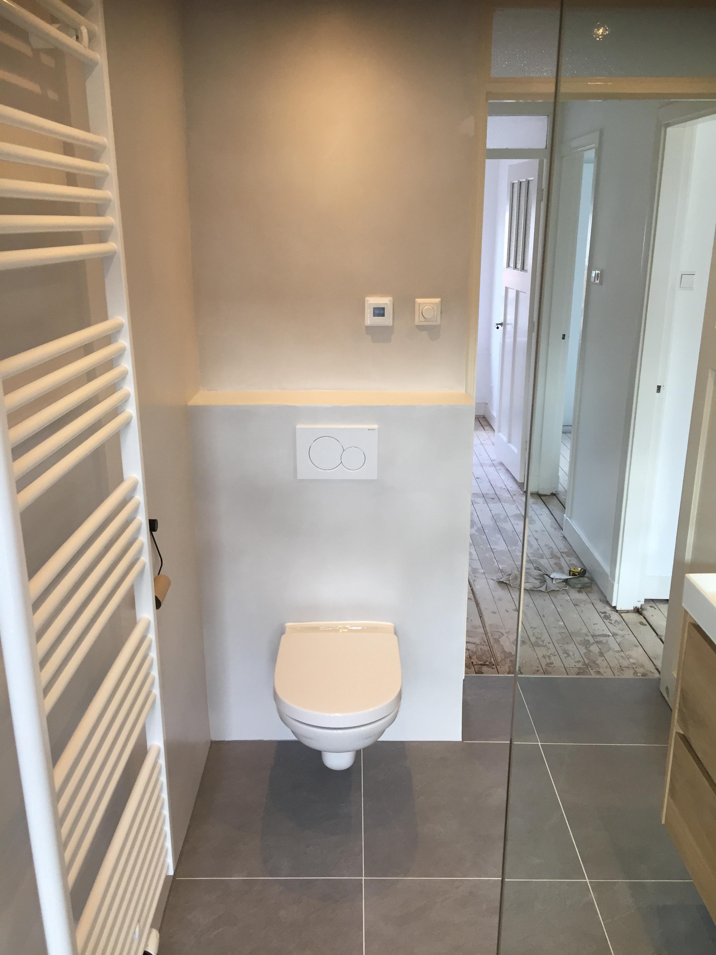 Badkamer renovatie beton cire in Haarlem 4